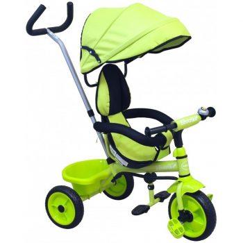 Detská trojkolka Baby Mix Super Trike zelená