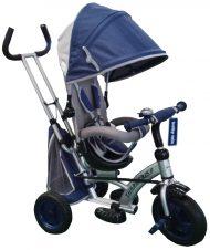 Baby Mix dětská tříkolka 360 Turbo otočným sedadlem o 360 ° - modrá