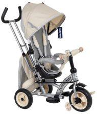 Baby Mix dětská tříkolka 360 Turbo otočným sedadlem o 360° - béžová
