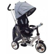 Baby Mix detská trojkolka 360 Turbo otočným sedadlom o  - sivá