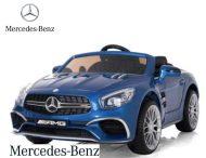 Modré auto Mercedes-Benz AMG s dálkovým ovládáním