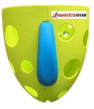 Držiak do vane na hračky zelený