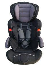 Dětská bezpečnostní autosedačka Mama Kiddies Turbo (9-36 kg), šedo-černá