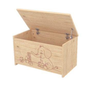 Dětský box se sloníkem na hračky s teleskopem