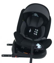 Mama Kiddies Rolling Safari bezpečnostní autosedačka s ISOFIX systémem, s otáčením do 360 ° (0-36 kg), vzor Jumbo + dárky