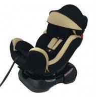 Mama Kiddies Safety Plus dětská autosedačka  (0-25 kg), barva béžová + dárek: Clona proti slunci