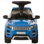 Range Rover nohami poháňané auto s hudbou modré