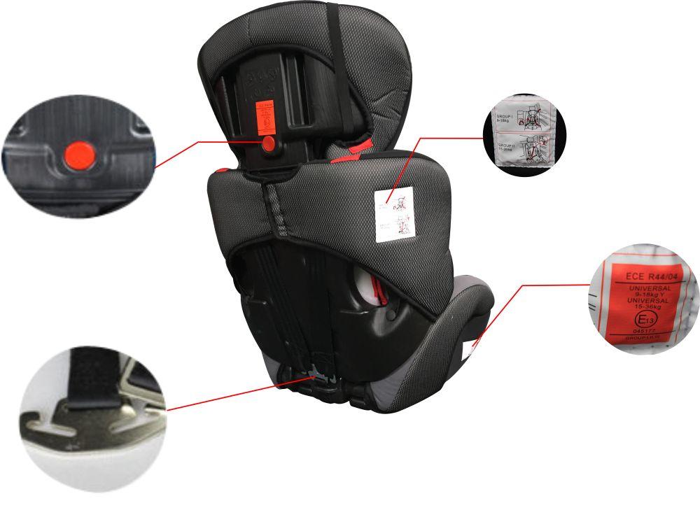 biztonsági autósülési 0-36 kg