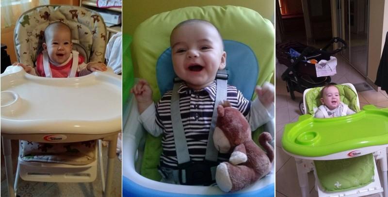 MamaKiddies dětské jídelní židle - Fotografické názory zákazníků!
